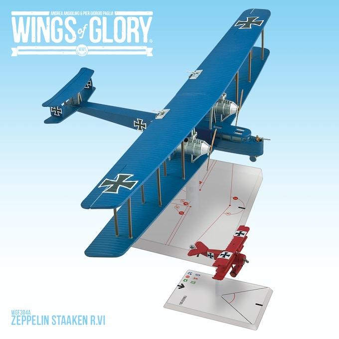 (Fokker Dr.I shown for size comparison)