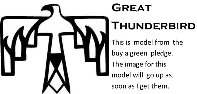 The Great Thunderbird - $40