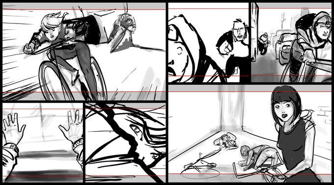Some of our storyboards!