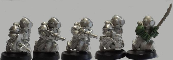 Set 10 (A 5 Miniatures Set)