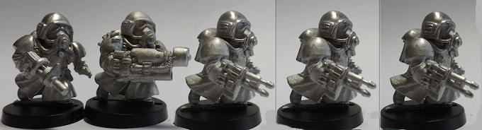 SET 11 (a 5 miniatures set)