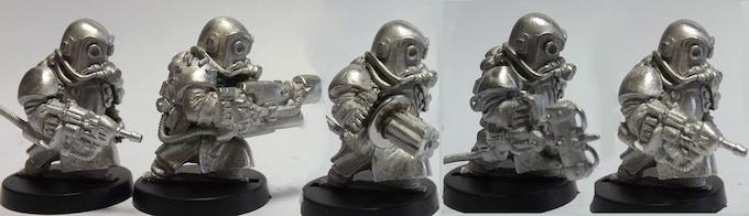 SET 12 (a 5 Miniatures Set)