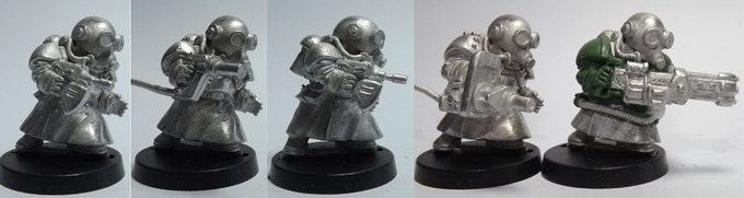 SET 15 (a 5 miniatures set)