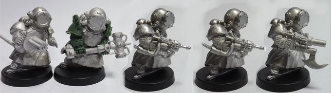 SET 17 (a 5 miniatures set)