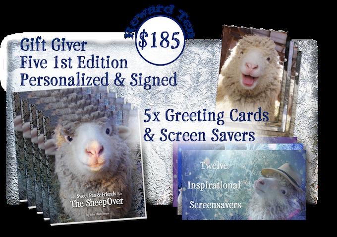 Sweet Pea & Friends in The SheepOver by John Churchman — Kickstarter
