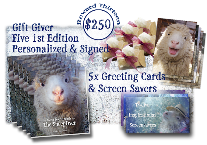 Sweet Pea & Friends in The SheepOver by John Churchman — Kickstarter
