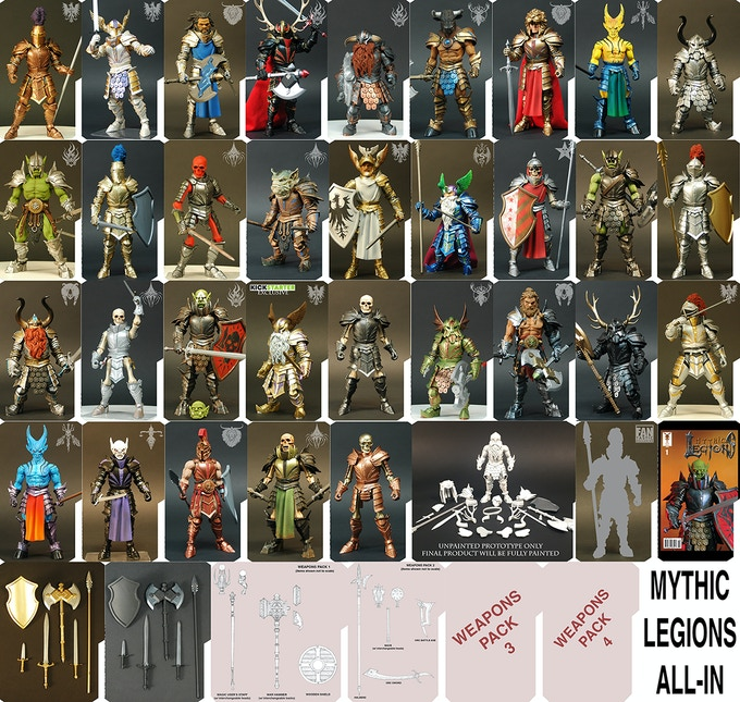 MYTHIC LEGIONS ALL-IN!