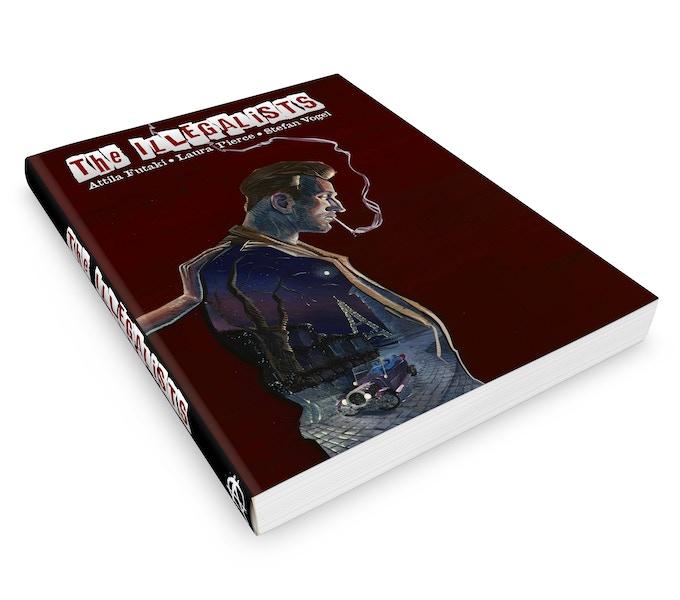 HardBack Cover Signed By Artist Attila Futaki