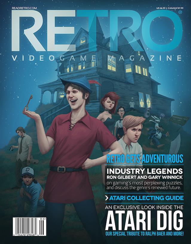 RETRO: A New RETRO Gaming Magazine by Mike Kennedy — Kickstarter