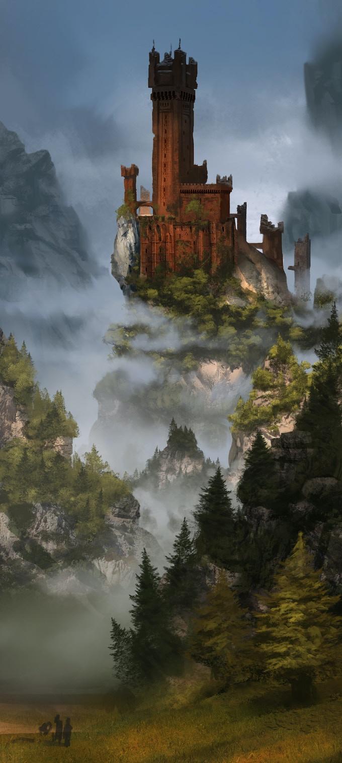 High mountain ruins, hiding untold treasure