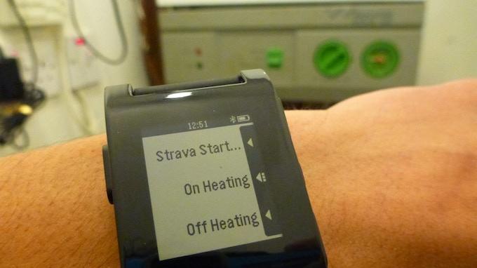 Pebble Smartwatch heating control anyone?!