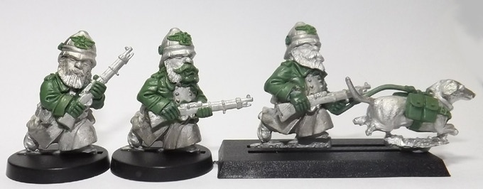 Prussian Colonial Marines part of set