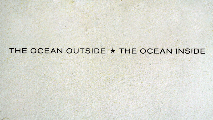 Our payoff. It means that taking care of the ocean is taking care of all of us. It means that the ocean is an emotion, the ocean is a genesis, the ocean is a culture.