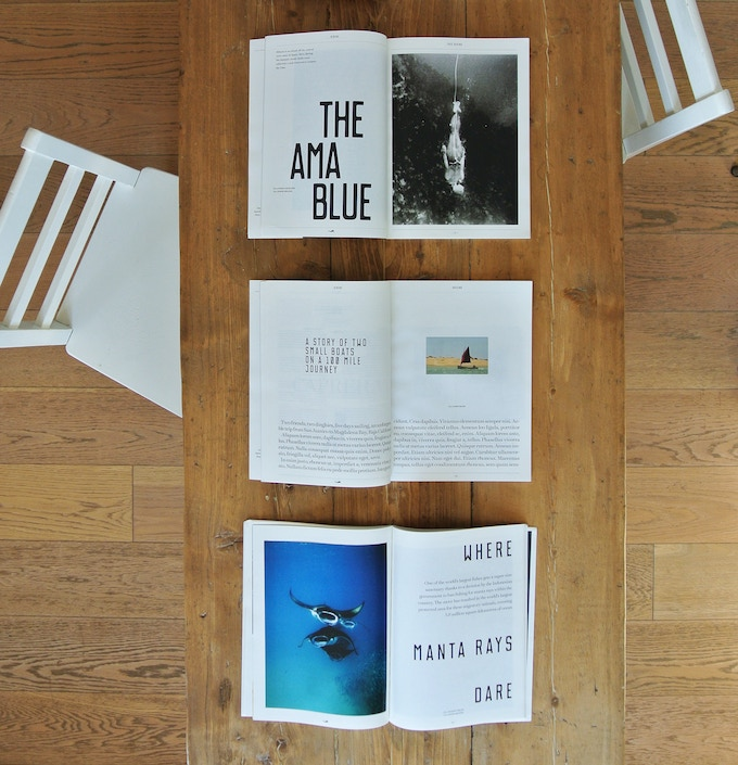 Pages from our issue 0