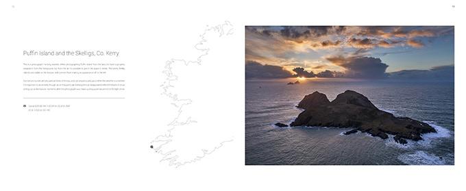 Sample spread: Puffin Island