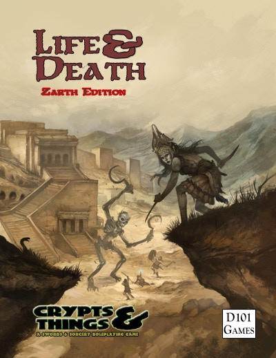 Life and Death, cover by Jon Hodgson