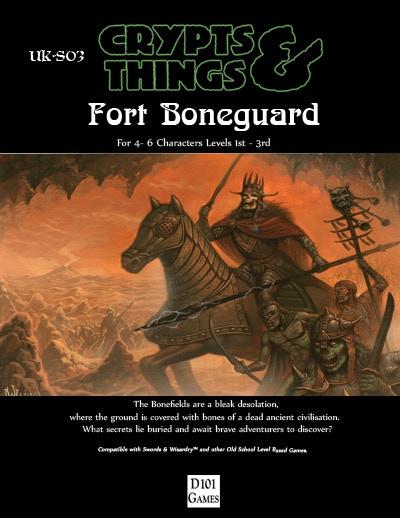 Fort Boneguard by David M.Wright