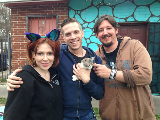 First Adoption for Austin Animal Center.  7 March 2015.  Photo by Natalie Cerna.