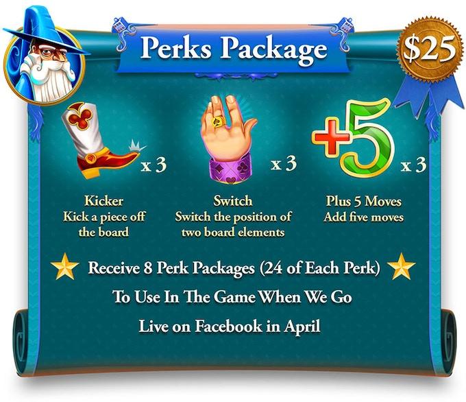 $25 Perks Package