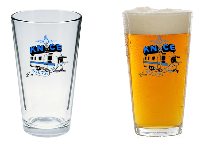 KNCE Pint Glasses
