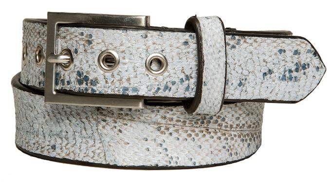 Cod Fish leather belt