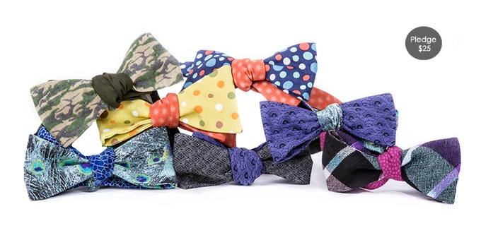 Pledge $25 and get the New Skinny cotton Mix & Match Bows !