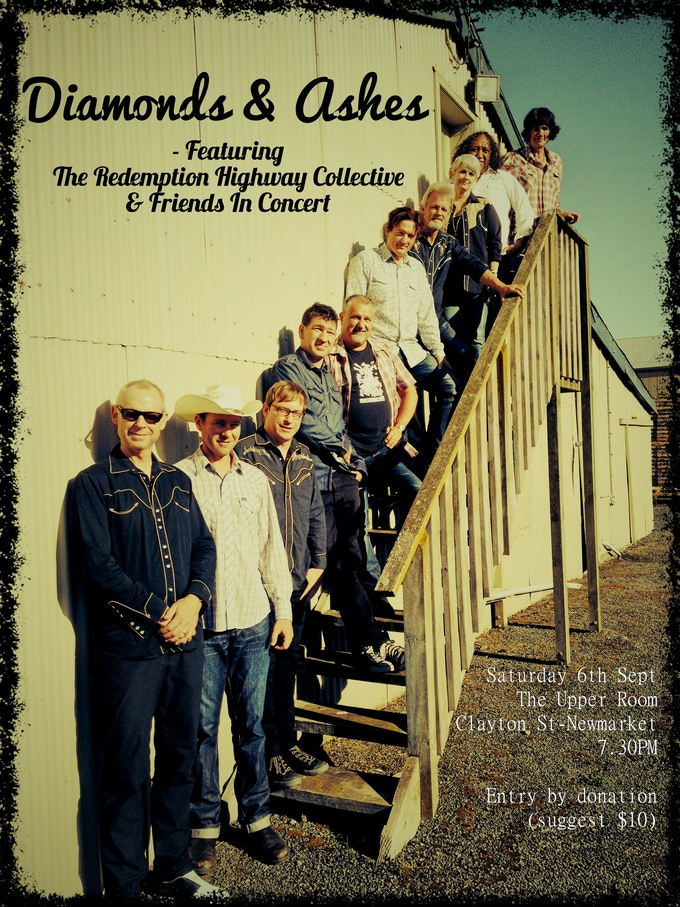 Sept 2014 The Redemption Highway Collective lineup (always changing)