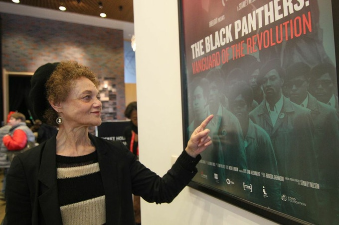 Kathleen Cleaver at the Sundance Film Festival