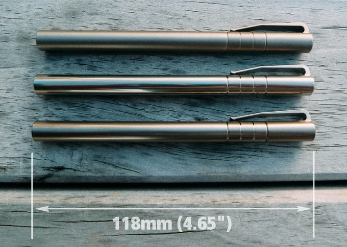 "At 118mm (4.65"")... The Length Of The Pen Is In The ""GoldiLocks"" Range Of Not Too Small... Not Too Big... But ""Just Right!"""