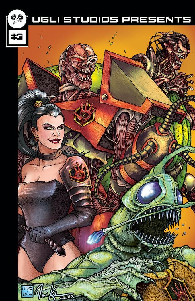 Ugli Studios Presents #3 Cover Image