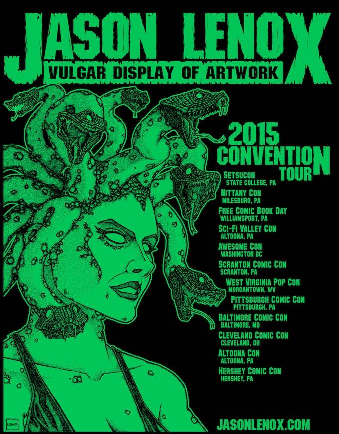 Jason Lenox 2015 Shirt - Back