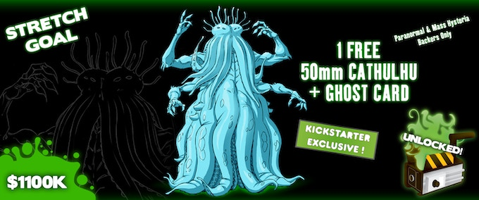 Paranormal and Mass Hysteria Backers Only. Sculpt Pending.