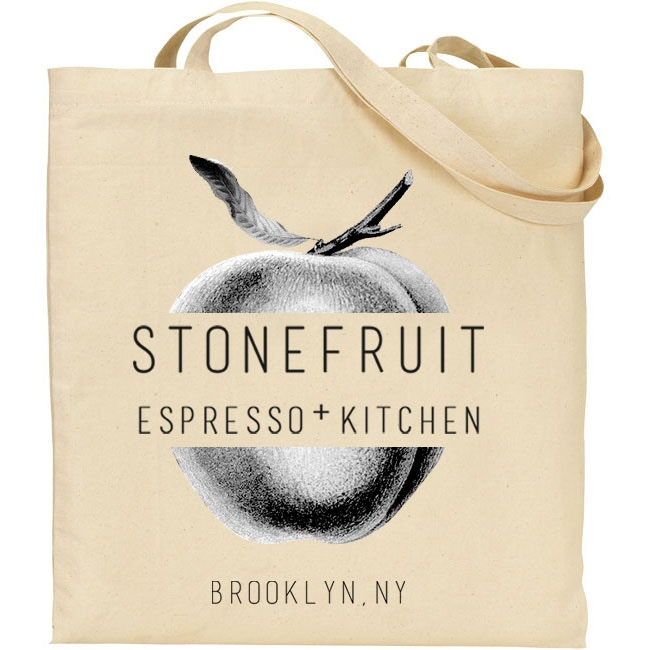 Your very own Stonefruit tote bag!