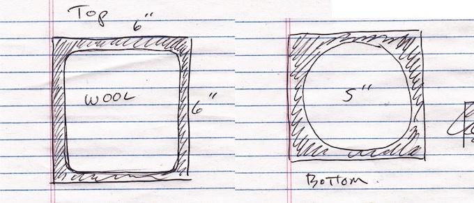 The embarrassing rough sketch I originally sent to Jason.