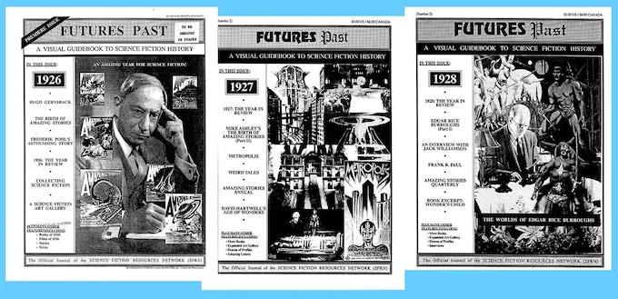 The original FUTURES PAST fanzine