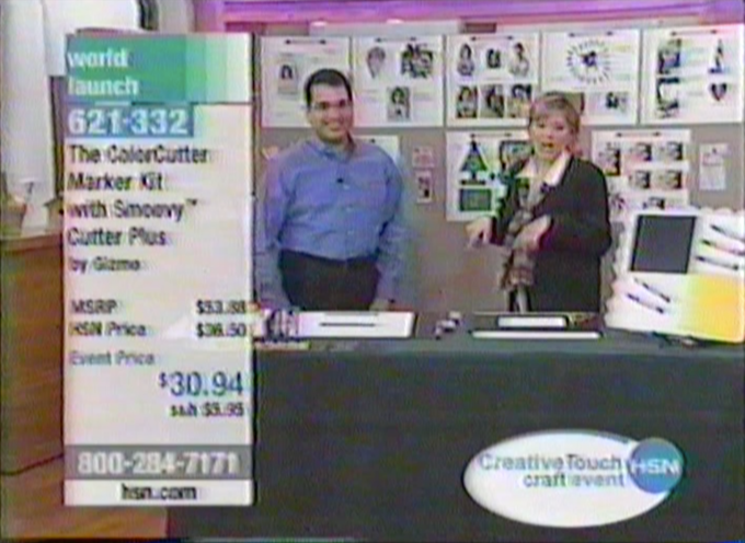 Perry The Inventor On a Home Shopping Channel