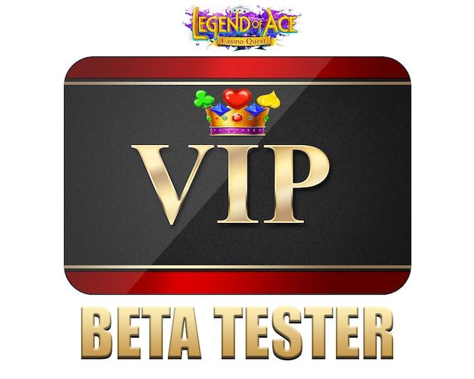 $100 VIP BETA Tester