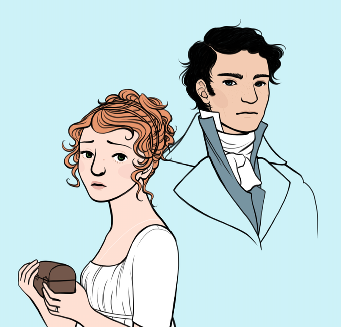 Character designs by Sarah Winifred Searle