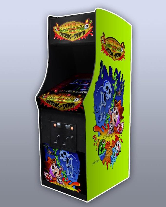 Custom arcade cab