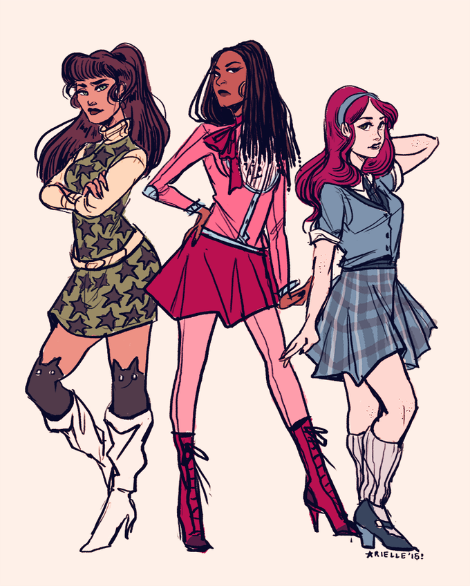 Character designs by Arielle Jovellanos