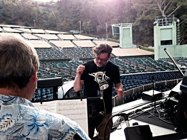 Conducting Strings for Kings of Leon @ The Hollywood Bowl