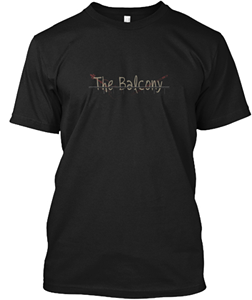 Shirt design subject to change for Balcony short film