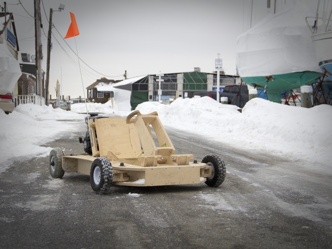 Plyfly Go Kart A 25 Mph Wooden Roadster By The Flatworks Llc