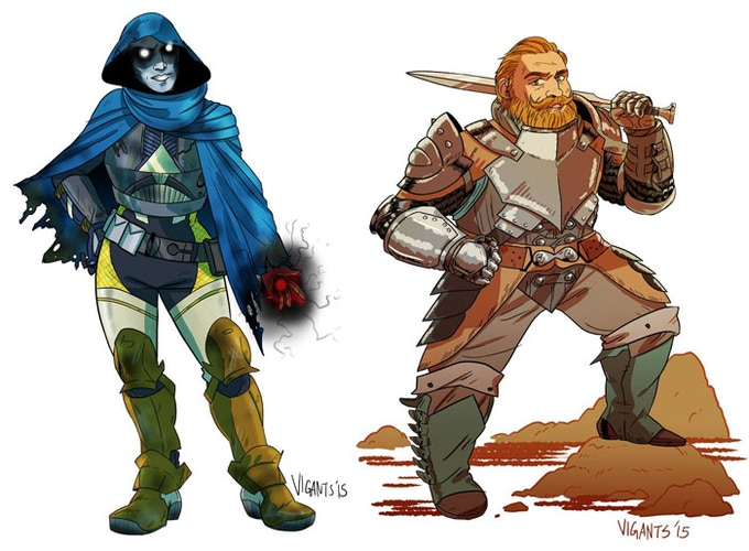 This could be your RPG or video game character!