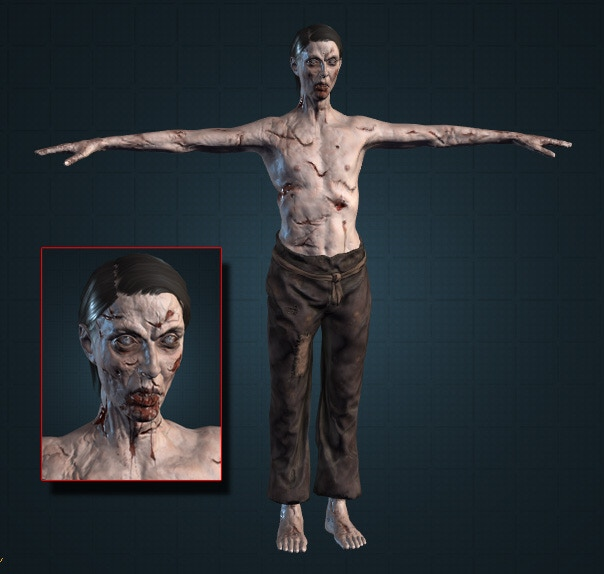 New Male Zombie 1