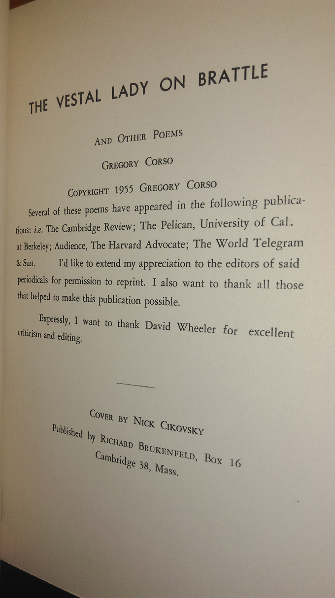As you can see, these are not the facsimile editions published by City Lights in 1969