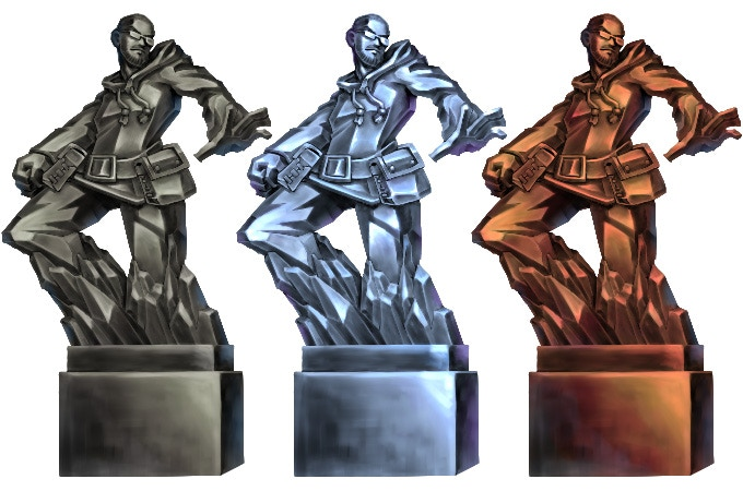 statue material variations - iron/copper/silver and more! material variations - iron/copper/silver and more!