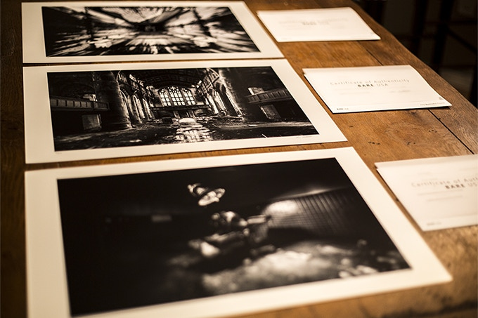 Signed & Numbered Prints with Certificates of Authenticity