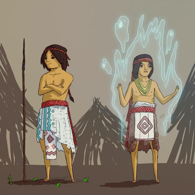 Conchos tribe concept art (Stretch Goal)