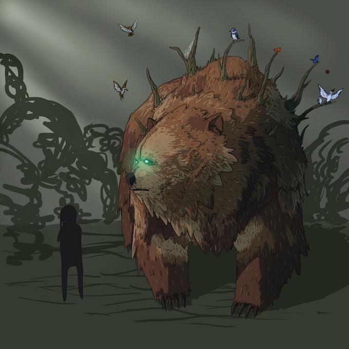 Bear demigod concept art